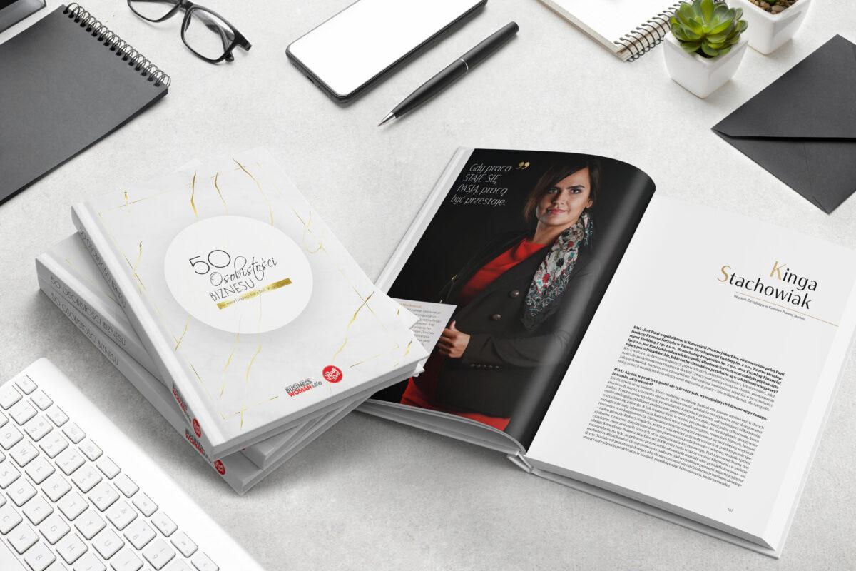 Wywiad w książce 50 Osobistości Biznesu magazynu Business Woman & Life